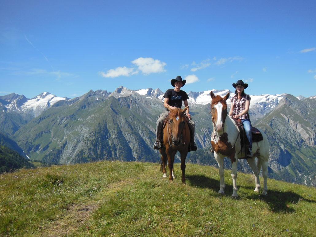 Wanderreiten im Hochgebirge