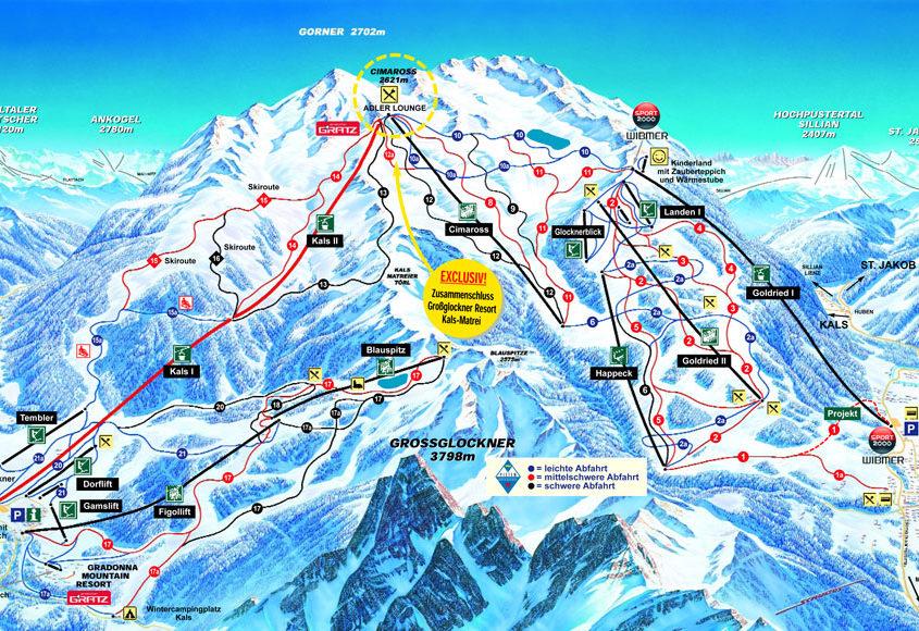 Skiresort Großglockner