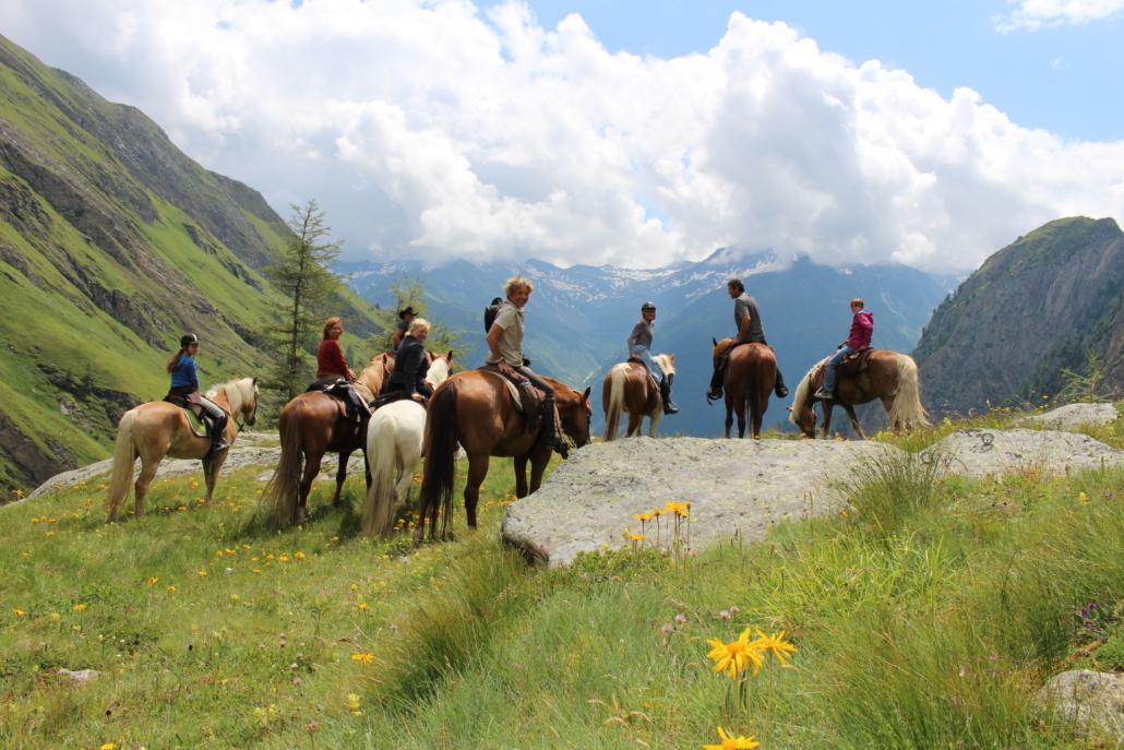 reiten-tirol / Alpines Wanderreiten